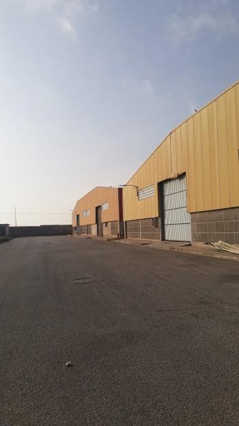 Vent hangar  de  2500m a la  zone industrielle karema